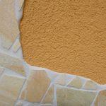 Reibeputz und Mosaik